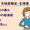 月経困難症の症状